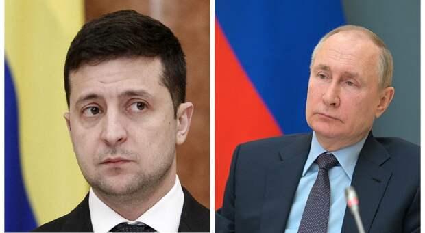 Зеленский позвал Путина для встречи в Донбасс