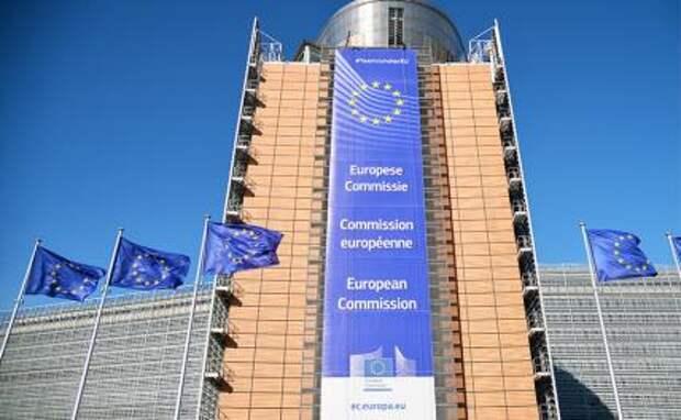 На фото: здание Еврокомиссии в Брюсселе