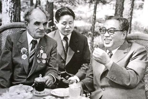 Как советский офицер спас «отца» Северной Кореи Ким Ир Сена