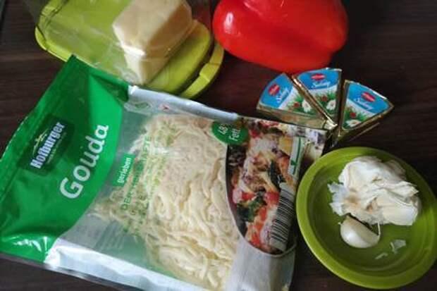 Антипасти по-советски или фаршированный  сыром перец: фото шаг 1
