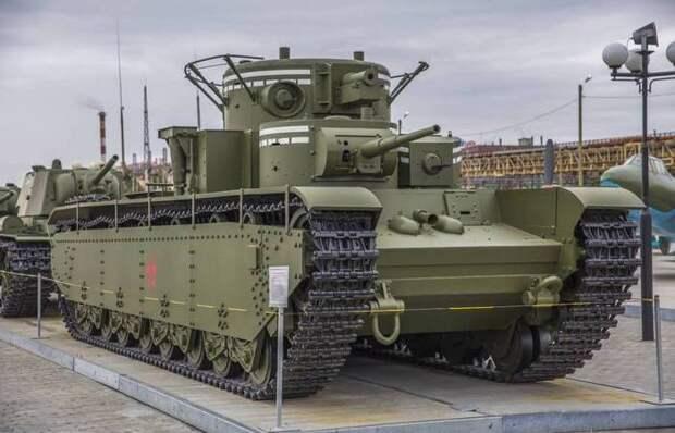 Пятибашенный Т-35: неоправдавшаяся надежда советских конструкторов