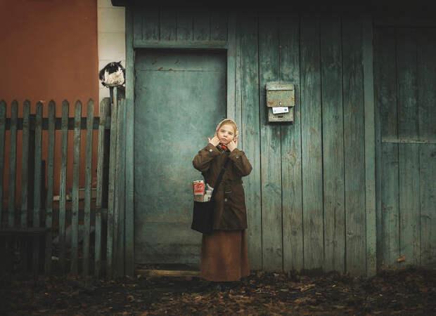 «Репортажная съемка» Елены Козловой