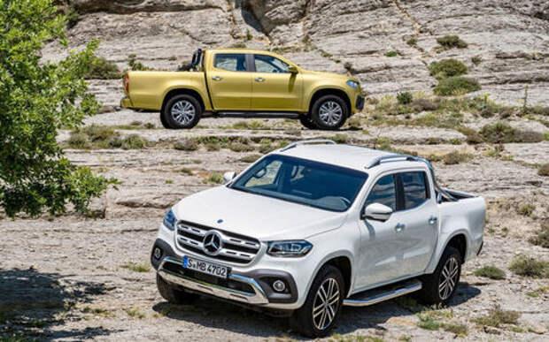 Mercedes-Benz привез в Россию Х-класс: грузовик по цене дорогого кроссовера