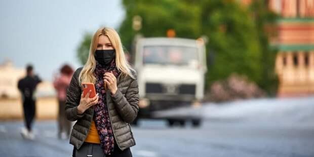 Более 40 нарушителей масочного режима выявили в торговых центрах на северо-западе Москвы 3 июня Фото: М. Денисов mos.ru