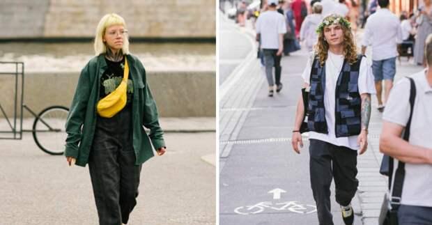 Фотограф показал, как выглядит уличная мода Москвы: 22 фото