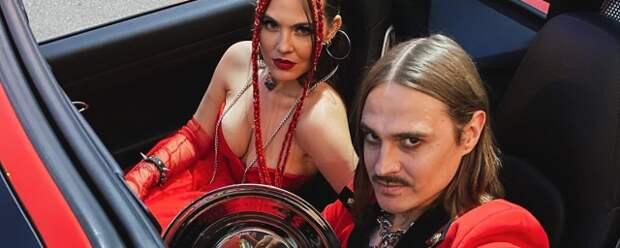 Таюрская и Прусикин посетили премию Муз-ТВ как пара