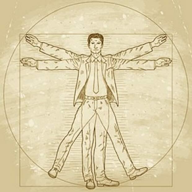 15 малоизвестных фактов о «Витрувианском человеке» Леонардо да Винчи