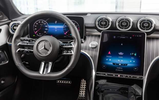 Новый Mercedes-Benz C-Класса W206: в приоритете гибридные двигателя
