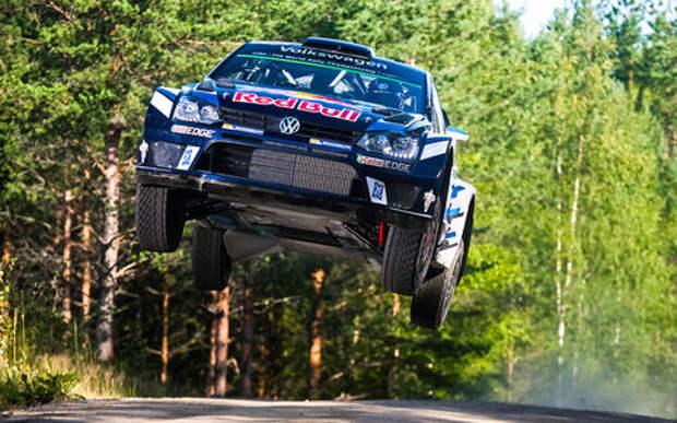 Финский этап WRC: прыгнуть выше головы