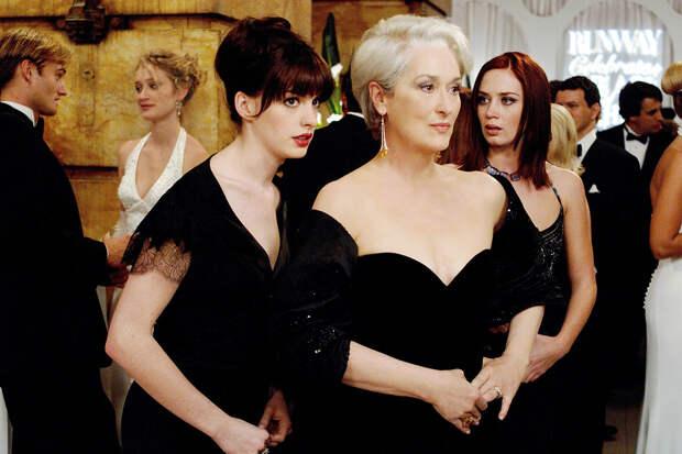 Мэрил Стрип и Энн Хэтэуэй вместе отметили 15-летие выхода фильма «Дьявол носит Prada»