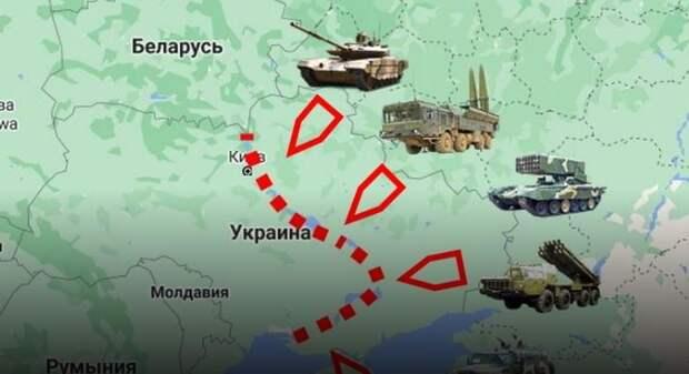 На Украине истерика: Россия расширила фронт до 2 тысяч километров