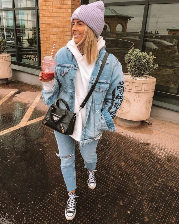 С чем носить джинсовую куртку в новом сезоне: 30 сногсшибательных образов