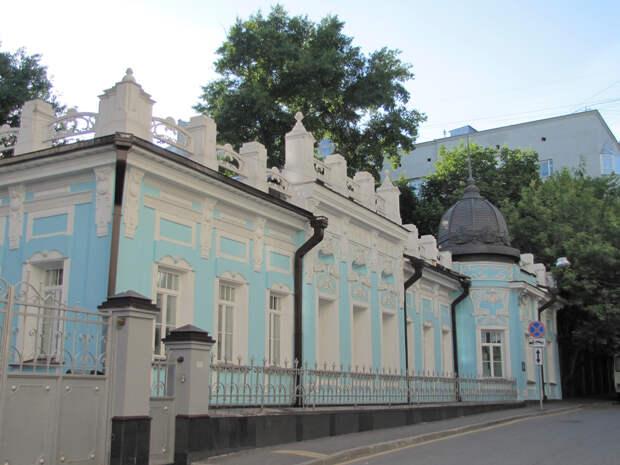 Причудливый декор московских домов в стиле модерн, ч.8