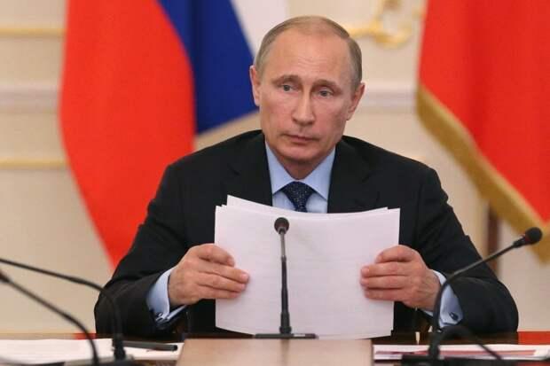 Владимир Путин о пересмотре итогов Второй мировой войны...