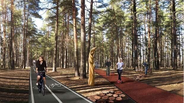 Благоустройство крупнейшего новосибирского парка завершится в этом году