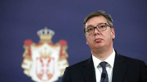 Президент Сербии назвал причину газового кризиса