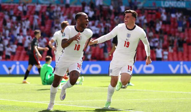 Сборная Англии обыграла хорватов на Евро-2020 с минимальным счетом