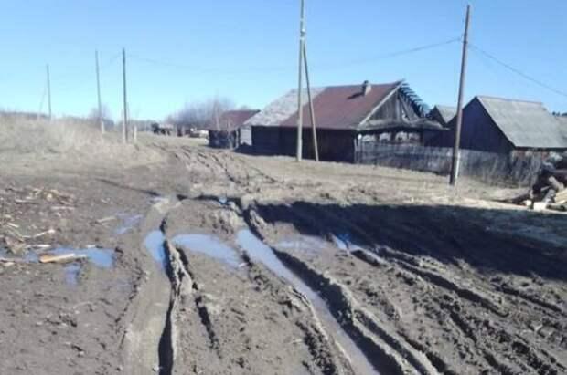 Убивают машины: в прикамском селе годами ждут обещанного ремонта дороги