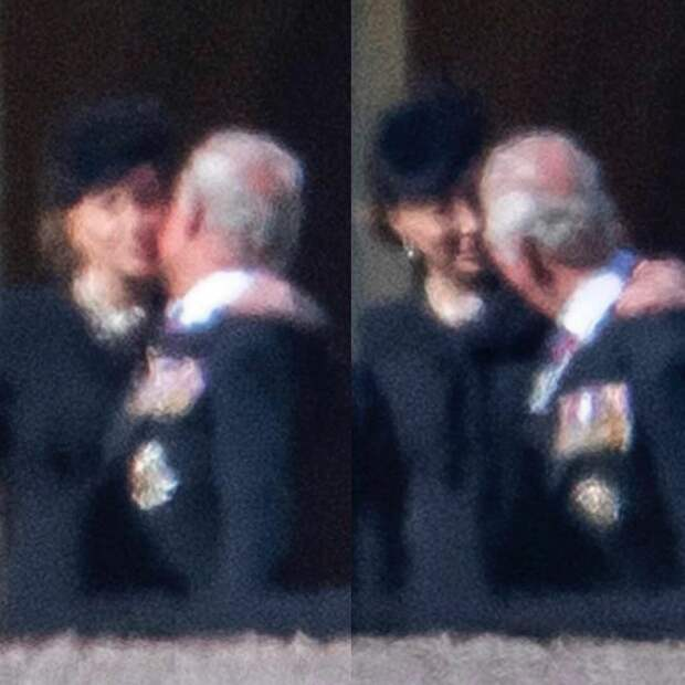 Кейт Миддлтон подбодрила принца Чарльза