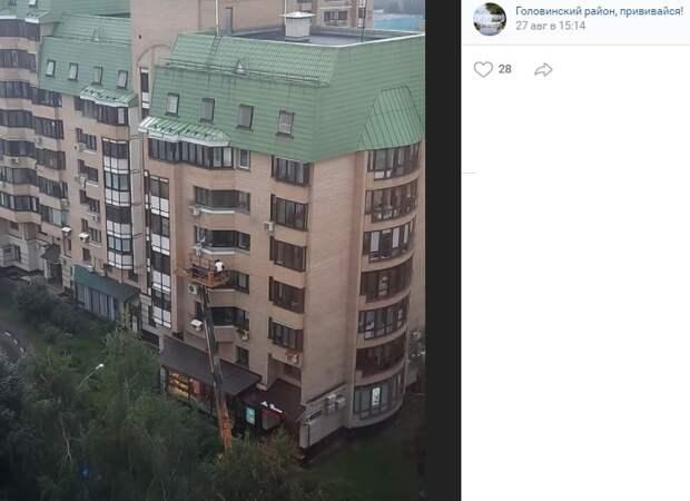 Фото дня: на Пулковской снимают кино