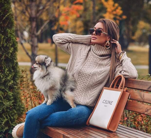 Фото 2, 3 - модный блогер Петра Динерс.