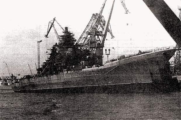 Крейсер «Киров» проекта 1144 – символ советской военно-морской мощи