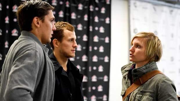 Бывшая хоккеистка Гаврилова помогает русским вКанаде. Участница трех Олимпиад стала переводчицей