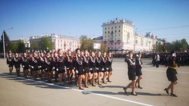 Как в Барнауле проходит Парад Победы. Фоторепортаж