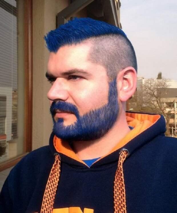 Цветная борода? Да!