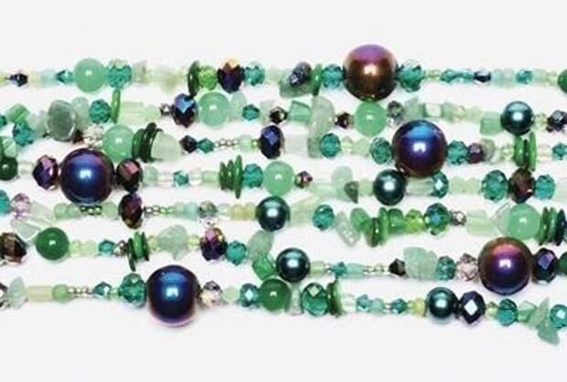 Сказочное ожерелье и браслет 1