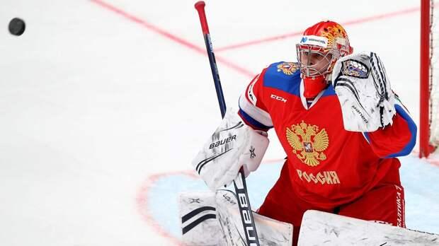 Сборная России не проигрывает при легендарном Ларионове! Идеальная игра вратаря Самонова помогла дожать шведов