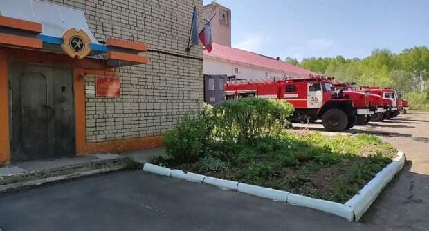 Пожарные из костромского города энергетиков получили новые машины
