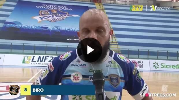 Capitão do Marechal, Biro fala sobre o comprometimento da equipe na vitória sobre o Pato - LNF 2021 (15/05/2021)