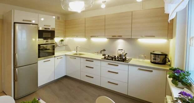 Кухня 7 кв. м: как оригинально и красиво решить проблему малой площади (59 фото)