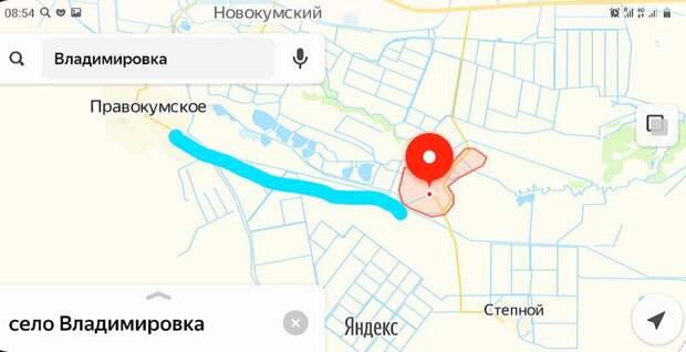 Вот так мы и шли, показал на карте. Скриншот Виктора Викторовича