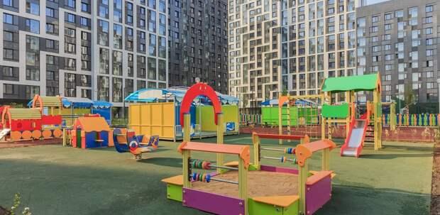 В Новой Москве планируется открыть 10 детских садов к началу учебного года