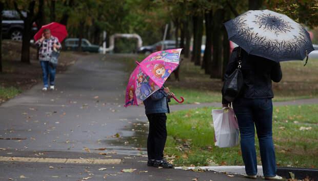 «Желтый» уровень опасности из‑за дождя объявили в Московском регионе на 4–5 октября