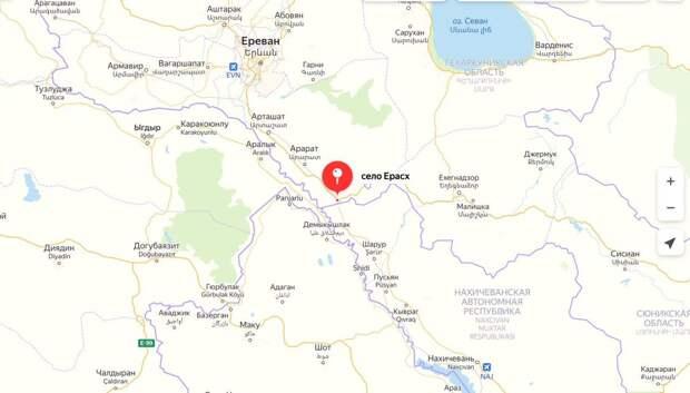 В Армении сбит российский Ми-24