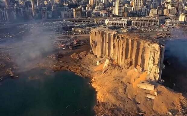 Опубликована драматическая раскадровка взрыва в порту Бейрута