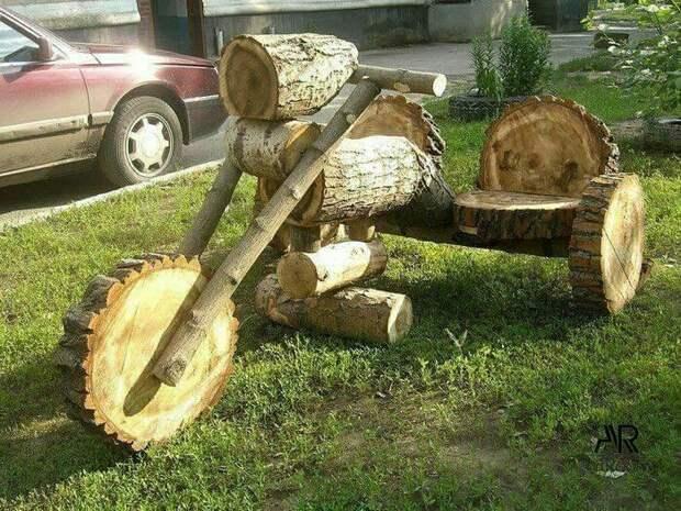 Деревенский мотоцикл для детей