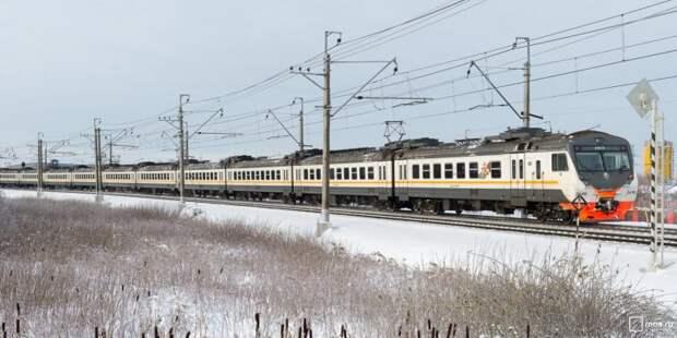 Расписание электричек от станций Молжаниново и Новоподрезково изменится в конце марта