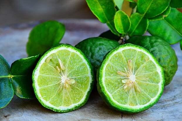 Гибрид лимона с горьким апельсином называемый бергамотом