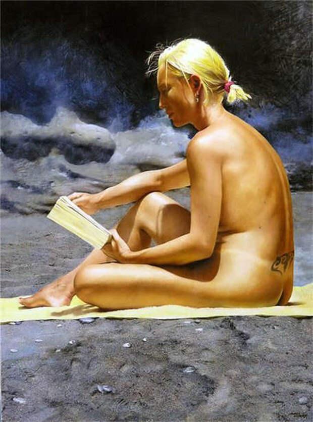Обнаженная натура в изобразительном искусстве разных стран. Часть 23.