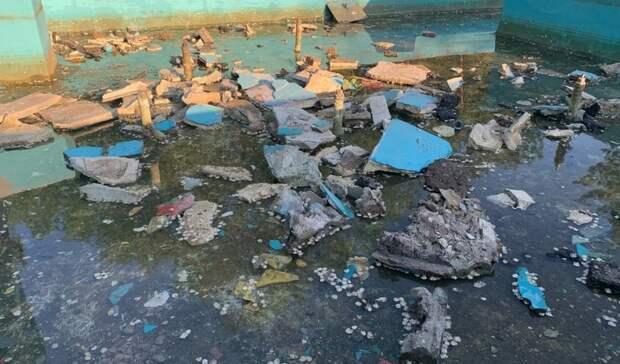 Оренбуржцы бьют тревогу: парк им. Гуськова разрушается на глазах