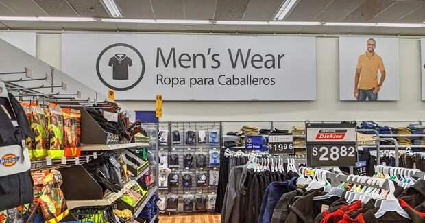Модная одежда станет главной ареной борьбы Amazon и Walmart