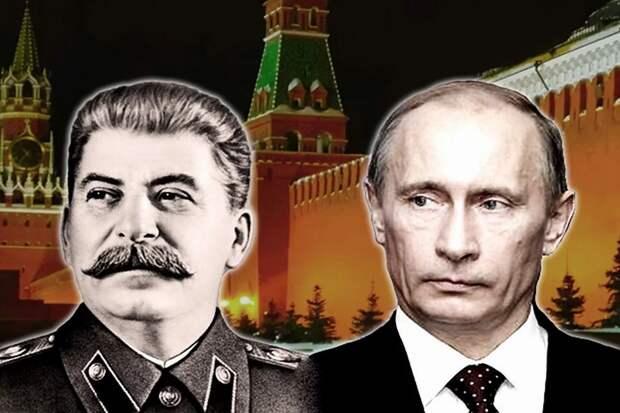 он - продолжатель дела Сталина