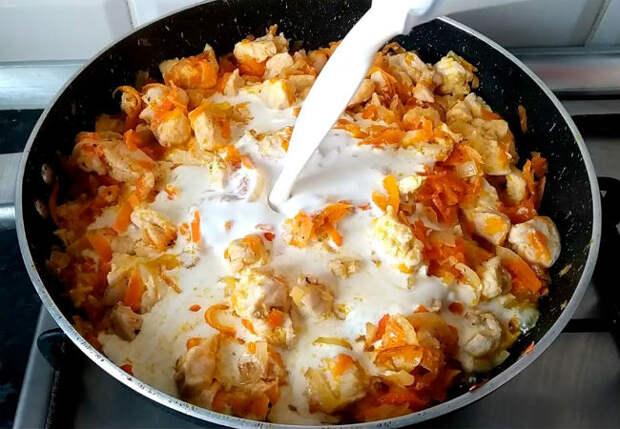 Вылили на сухую курицу поллитра молока: ставим на стол сочный ужин за 30 минут