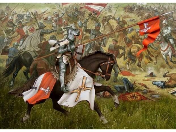 Грюнвальдская битва: куда делись русские полки?