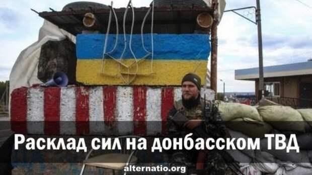 Расклад сил и действия сторон на Донбасском ТВД