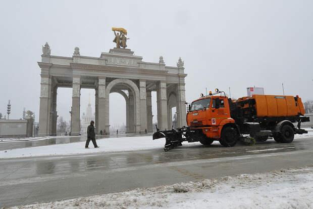 Заморозки и мокрый снег вернутся в Москву